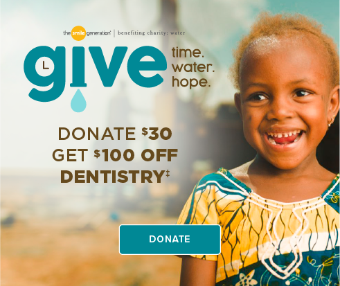 Donate $30, Get $100 Off Dentistry - Chantilly Modern Dentistry